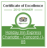 Holiday Inn Express Charlotte-Concord-I-85